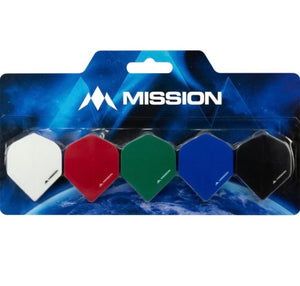 Mission Pack of 5 Blister Pack 100 Micron No2 Std Flights