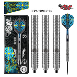 Shot Pro Series-Daniel Larsson Steel Tip Dart Set-80% Tungsten Barrels