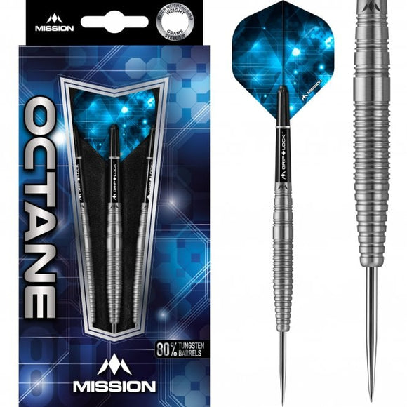 Mission Octane Darts  Steel Tip  M2  Front Taper