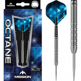 Mission Octane Darts Steel Tip M5 Twin Grip