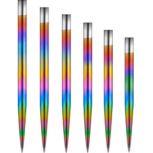 Mission Glide Darts Points - Rainbow