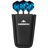 Mission POD Darts Case - Holds 1 Set Fully Loaded - Black