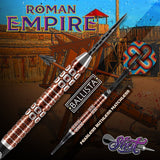 Roman Empire Ballista Steel Tip Dart Set-90% Tungsten Barrels