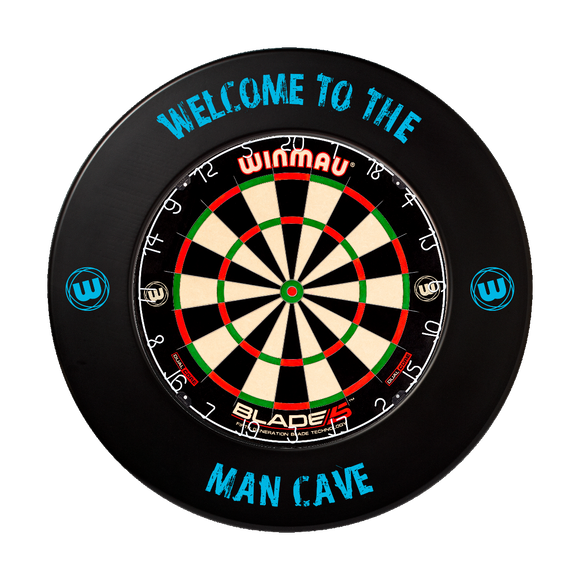 Winmau Welcome to the Man Cave Dart Board Surround