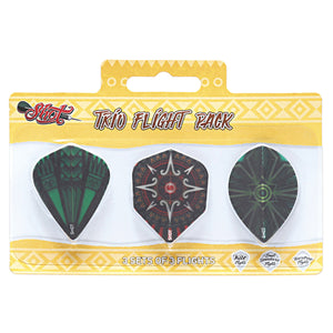 Shot Trio Flight Pack - Aussie Dart Supplies Online