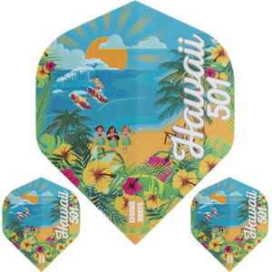 Wayne Mardle Hawaii 501 Legend No 2 Std Dart Flights