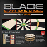Winmau Champions Choice Blade Dual Core Training Dartboard