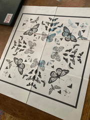 Butterfly Design for Cyanotype Printing