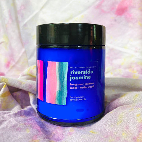 Soy Wax Candle - Riverside Jasmine