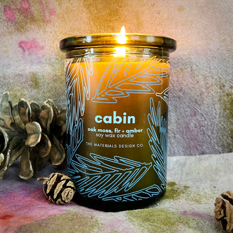 Soy Wax Candle - Cabin