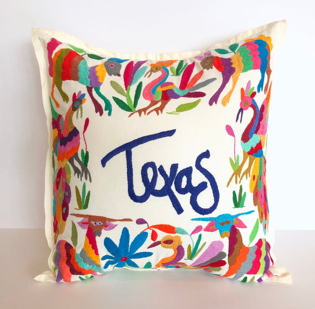 Texas Pillow (Multicolor)