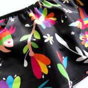 Women's Black Otomi Two-Piece Bikini (Medium)