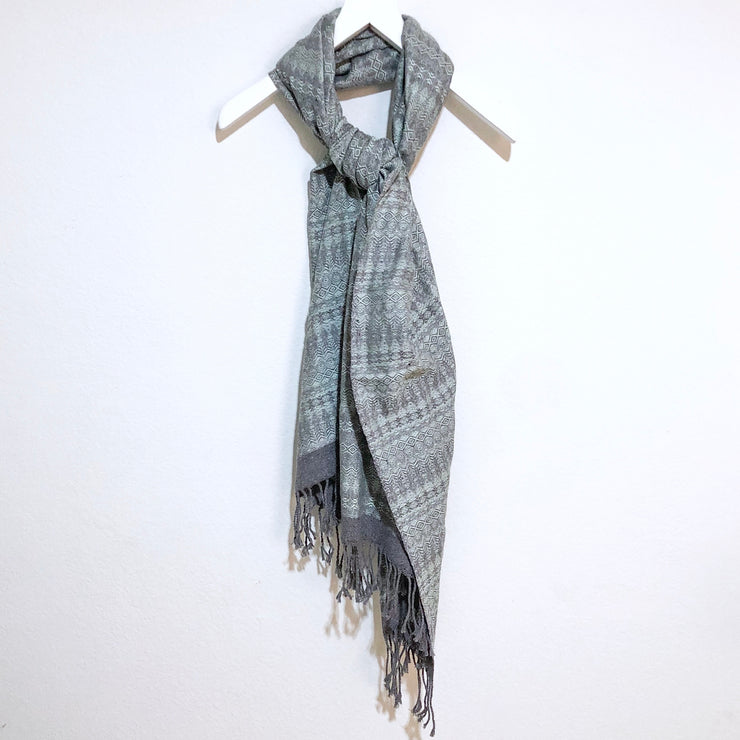 Chalina Wrap Mint and Grey