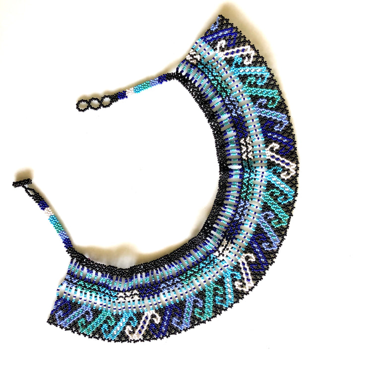 Beaded Cuff Necklace