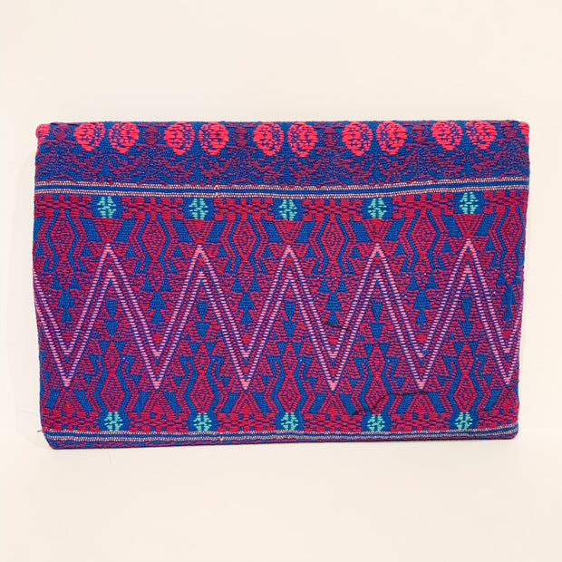 Joplin Clutch (Red/Blue)