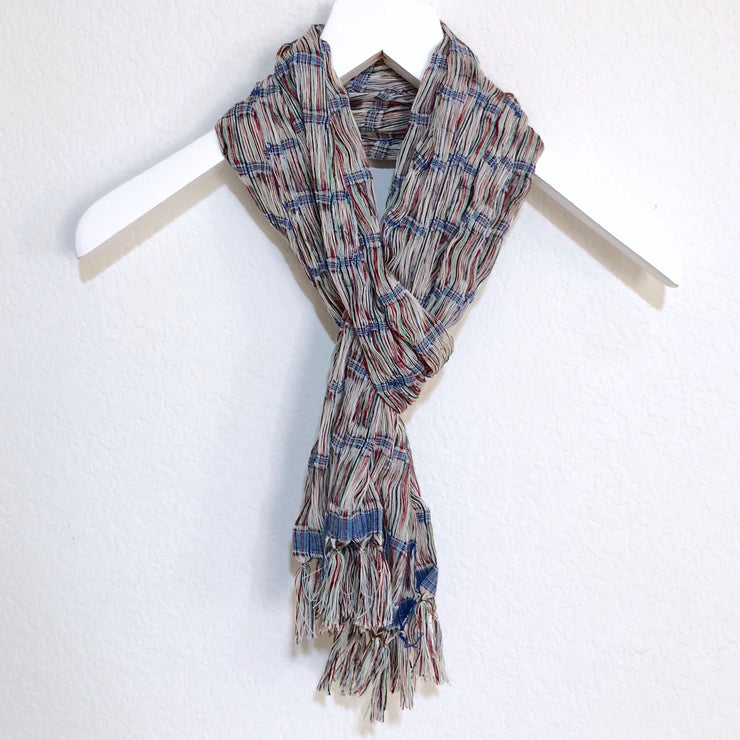 Chalina Scarf Blue and Multi