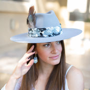Primavera Collection Hat (Light Grey)