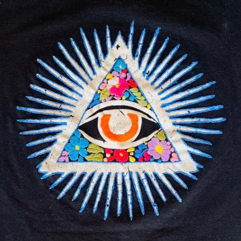 Skull Pillow (Black)