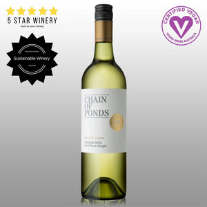 Chain of Ponds Adelaide Hills Range 2017 Amelia's Letter Pinot Grigio - 6 Pack