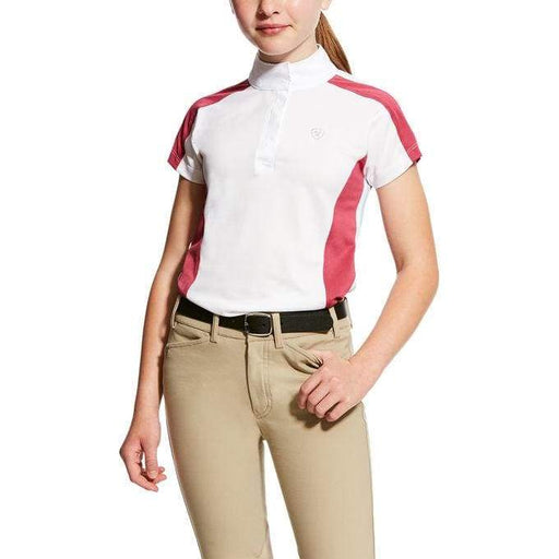 Ariat Girls Aptos Colourblock Show Shirt - Kids Competition Jacket