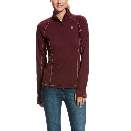 Ariat Lowell Womens 1/4 Zip - Baselayer