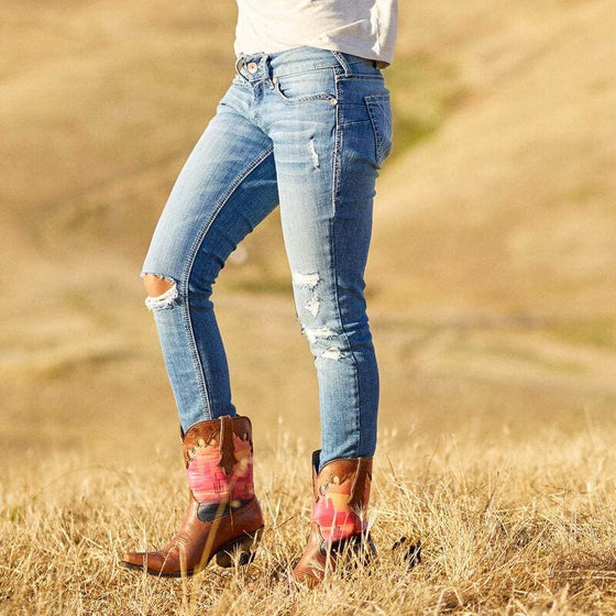Ariat Perfect Rise Bombshell Skinny Denim Jeans - Jeans