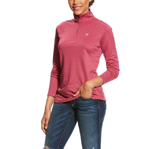 Ariat Womens Sunstopper 1/4 Zip - Ladies Top