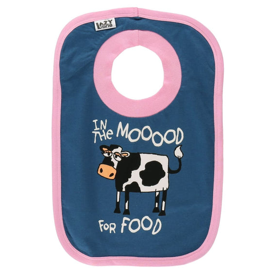 BIib Mood For Food - baby bib