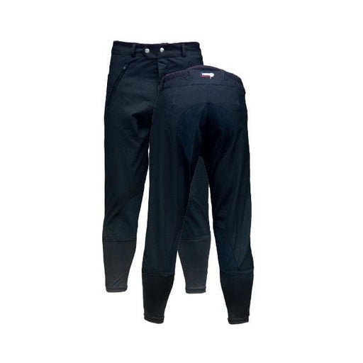 Breeze Up 3/4 Exercise Breeches Navy/Black - Breeches