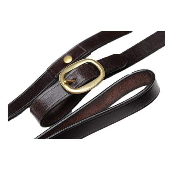 CELTIC EQUINE LEATHER LEAD LONG