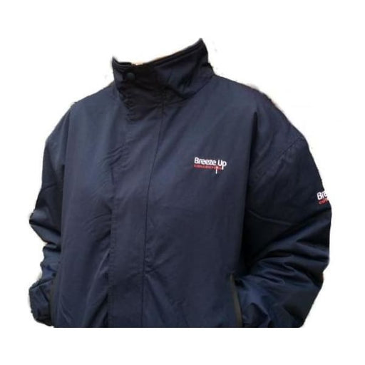 Breeze Up Waterproof Jacket Navy - Waterproof Jacket