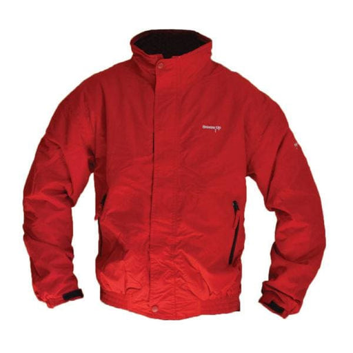 Breeze Up Waterproof Jacket Red - Waterproof Jacket