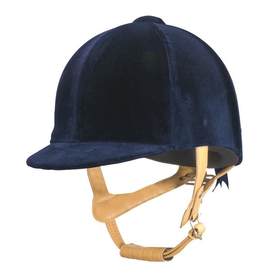 Champion CPX Supreme Riding Hat Navy - helmet