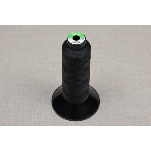 Coats Terko Satin Plaiting Thread Reel Black - Plaiting Thread