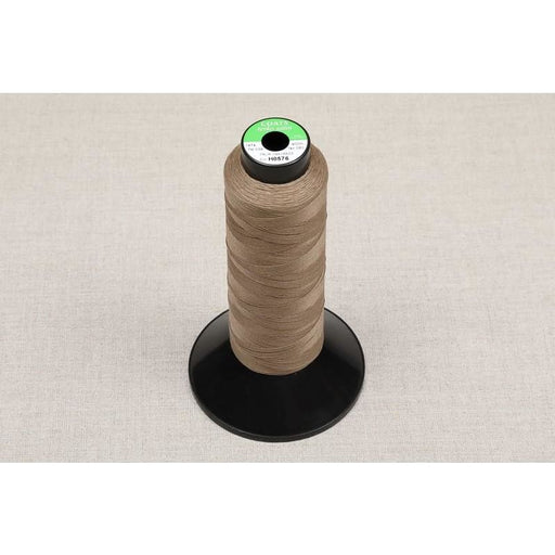Coats Terko Satin Plaiting Thread Reel Brown - Plaiting Thread