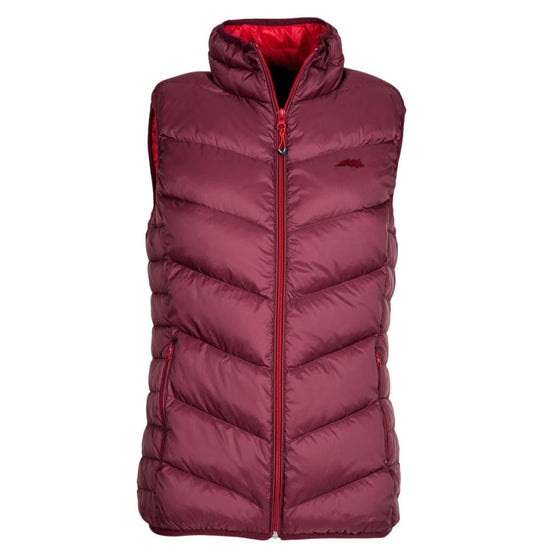 Equiline Girl's Down Vest Lara Red - Gilet