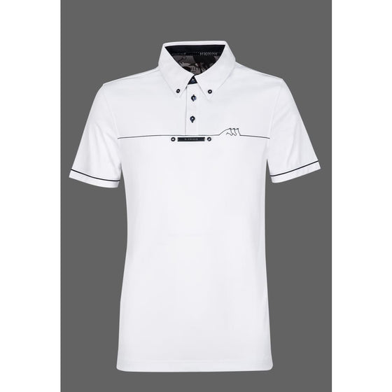 Equiline Linden Mens Competition Polo - Competition Shirt
