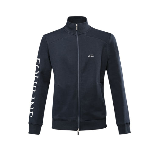 Equiline Mens Full Zip Sweatshirt Borago - Mens Sweatshirt