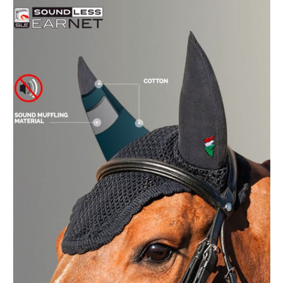 Equiline Sound Proof Ears - Fly Veil