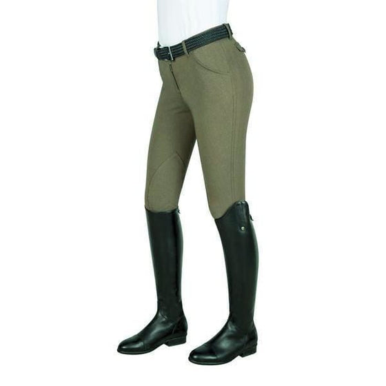 Equiline Womens Knee Patch Breeches Boston - Breeches