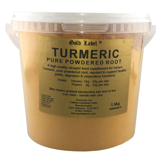 Gold Label Turmeric Powder 1.5 Kg - Turmeric Powder