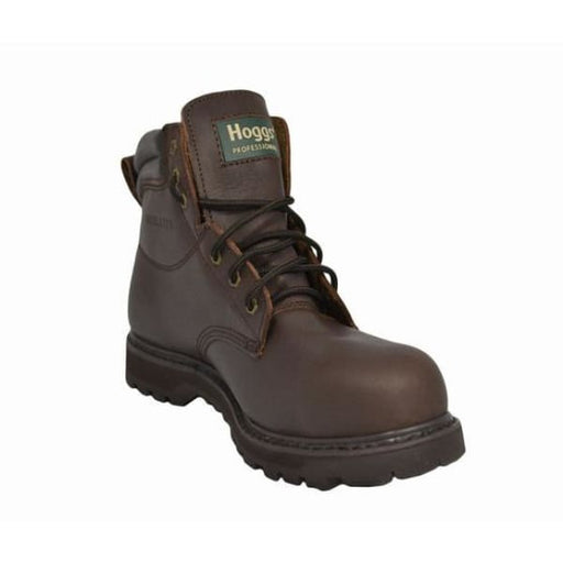 Hoggs Brown Crazy Horse Leather Boot - Boots