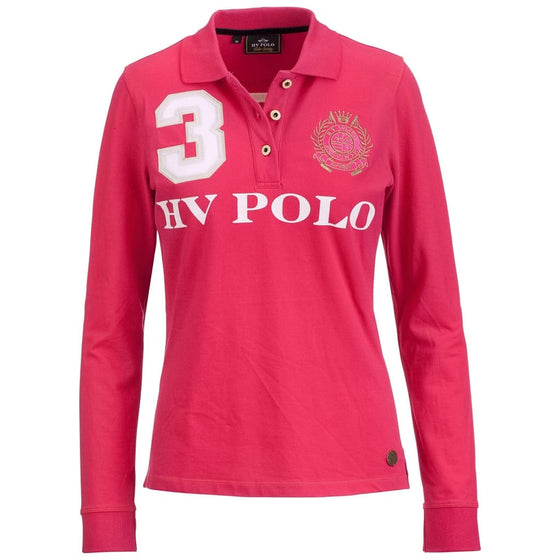 HV Polo Favouritas Long Sleeved Polo Shirt - Polo Shirt