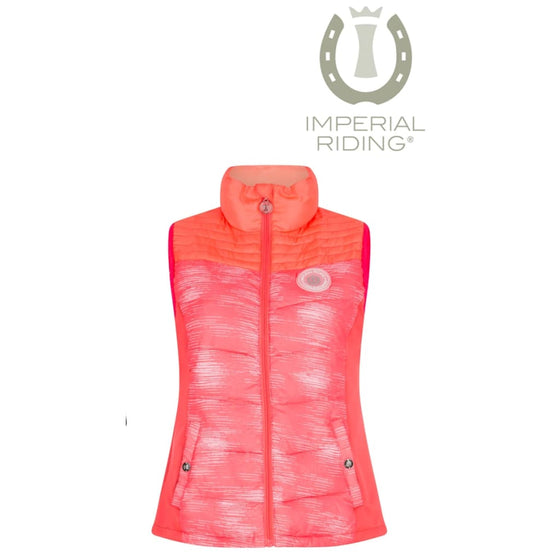 Imperial Riding Bodywarmer Experience Diva Pink - Bodywarmer