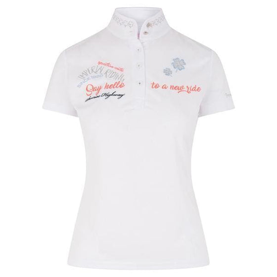 Imperial Riding Competition Shirt Double Lucky - Competition Shirt