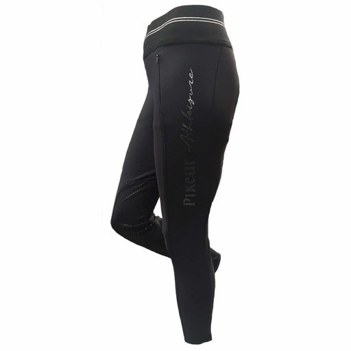 Pikeur Athleisure Fleece Lined Softshell Riding Tights Gia - Riding Tight