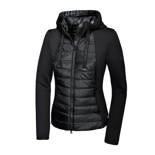 Pikeur New Generation Black Hooded Warm Up Jacket Ivori - Jacket