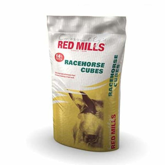 Redmills Racehorse 14% Cubes - Horse Feed