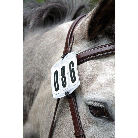 Shires Competition Number Kit - Bridle Competition Numbers