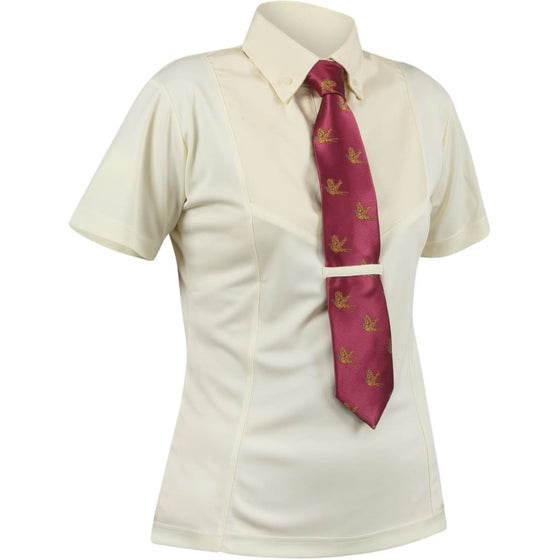 Shires Short Sleeve Tie Shirt Child - Show Shirt